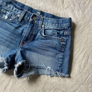 7 For All Mankind•Jeans Shorts